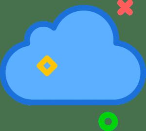 iconfinder icloud social network brand logo 1834847