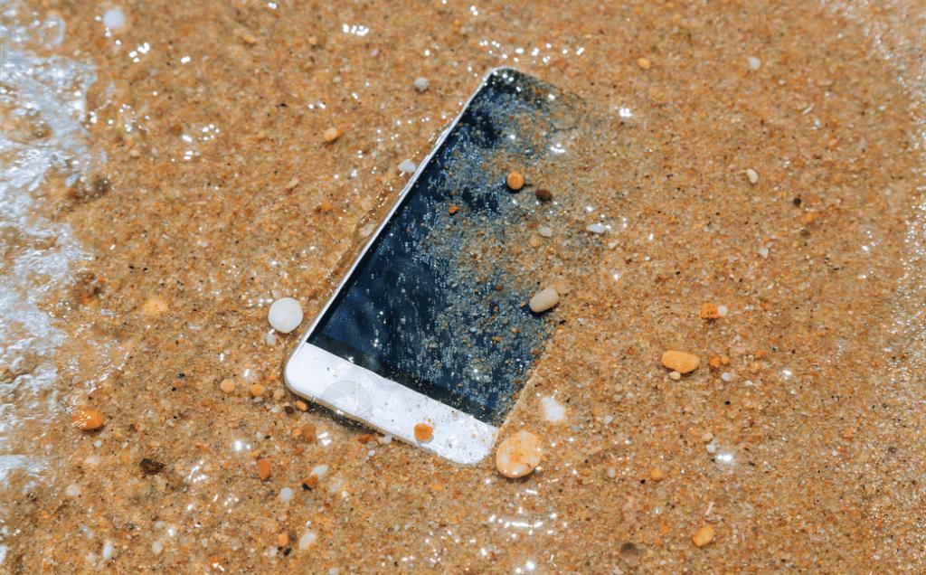 Posibles causas líquido en iPhone