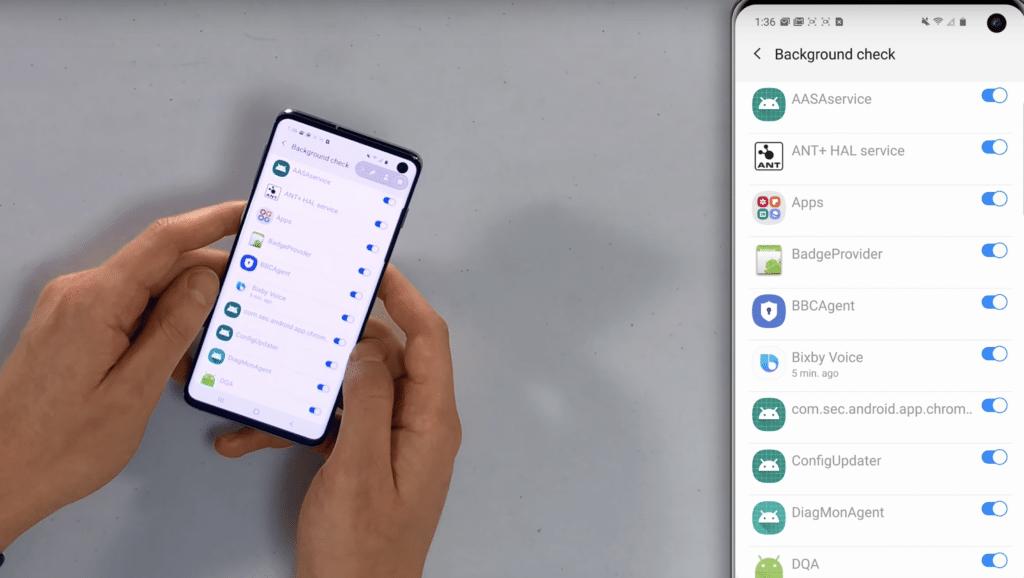 Desactivar aplicaciones innecesarias android