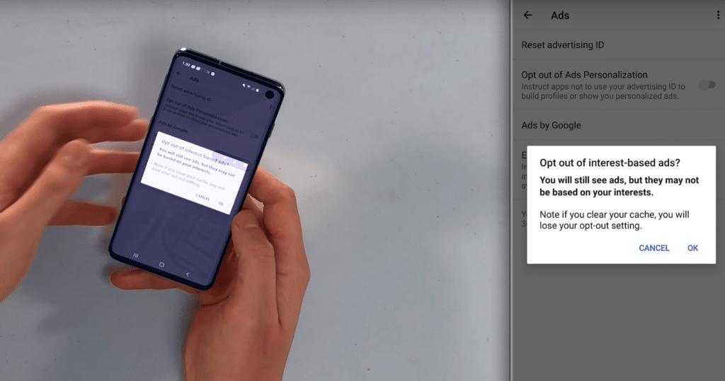 Desactivar publicidad en android