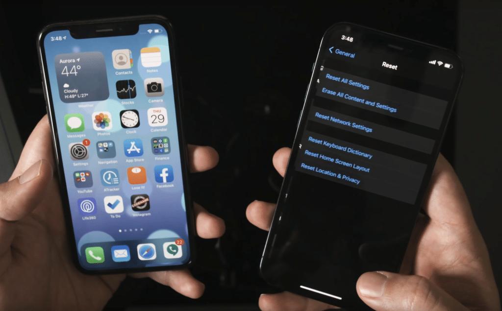 Transferir datos de un iphone a otro sin icloud